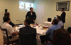 Dr Raj Introduces Congressman