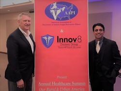 AMA National Pres Dr Barbe & CEO Raj