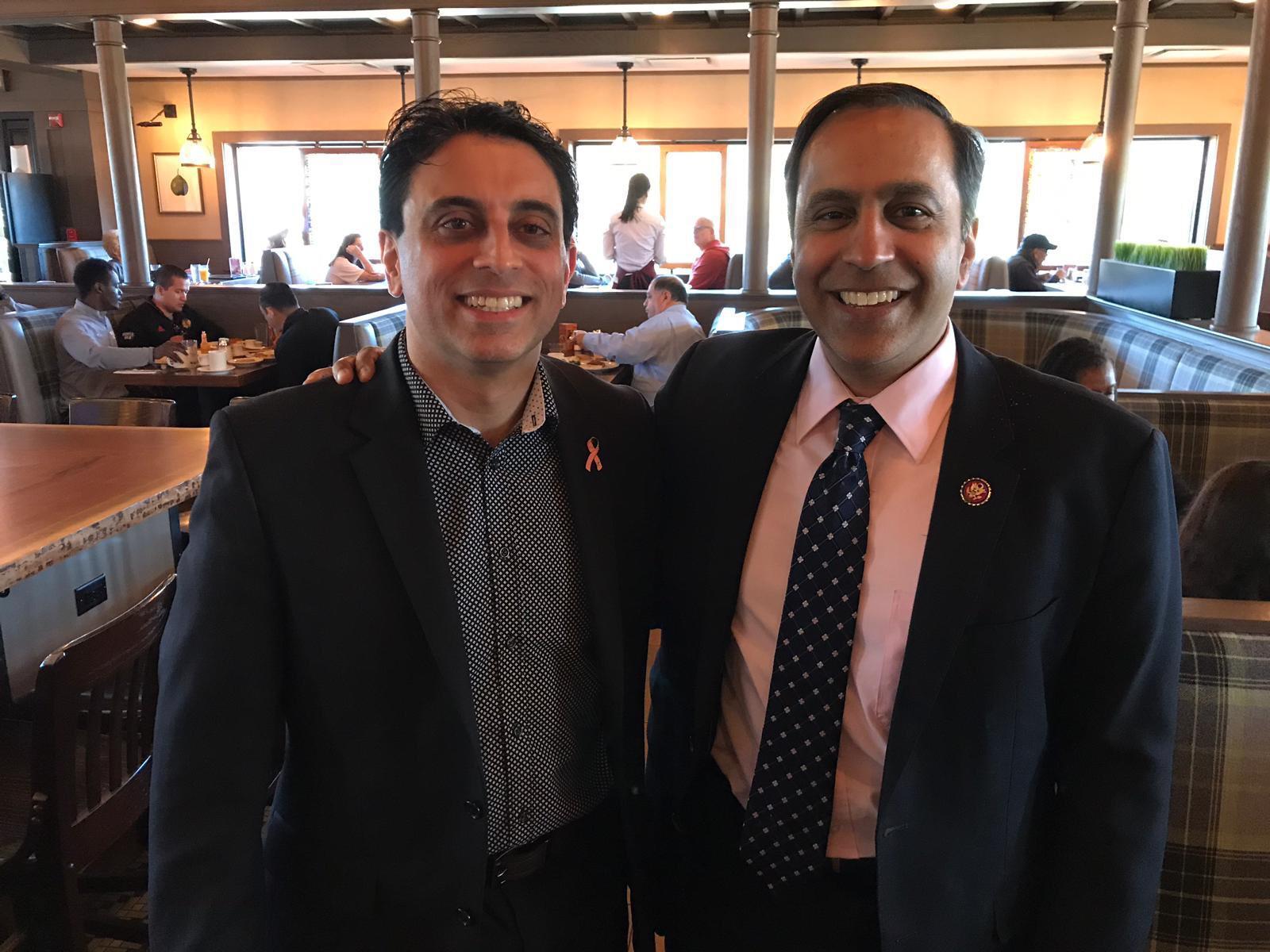 CEO Raj & Congressman Raja