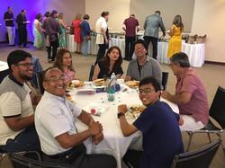 Summit Patients Enjoying Lunch