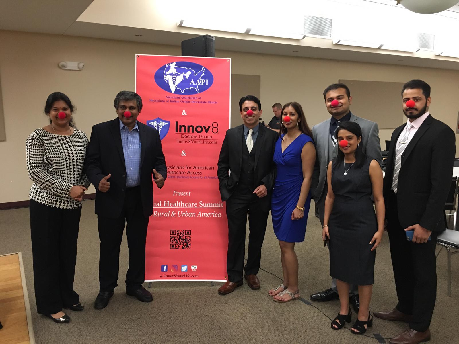 Celebrating Innov8 Red Nose Project