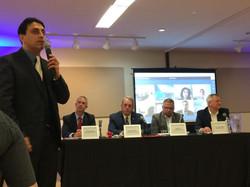 CEO Raj with Onsite & Online Panelists
