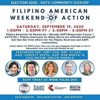 September 19, 2020 Filipino American Wee