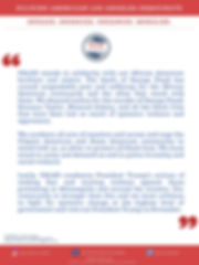PALAD Statement - May 30, 2020 - George