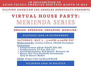 May 2020 - PALAD Virtual Merienda Series