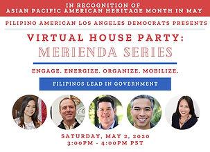 May 2, 2020 - PALAD Virtual Merienda Ser