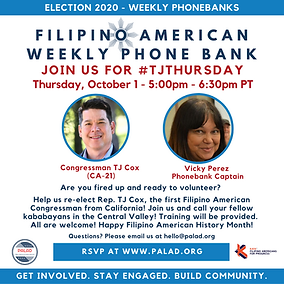 October 1 - Phonebank - TJ Thursday.png