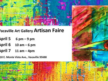 Spring Artisan CRAFT Faire, April 5-7