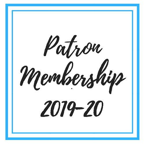 Patron Membership 2019-20