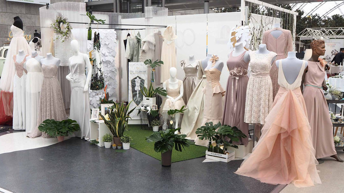 THE WEDDING SHOW by Gala in Leipzig – Hochzeitsmesse 2018 und THE GALEROBE by Denny Rauner