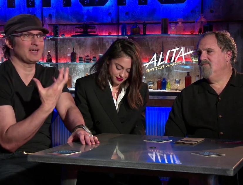 Noelle's Junket Interview for Alita: Battle Angel