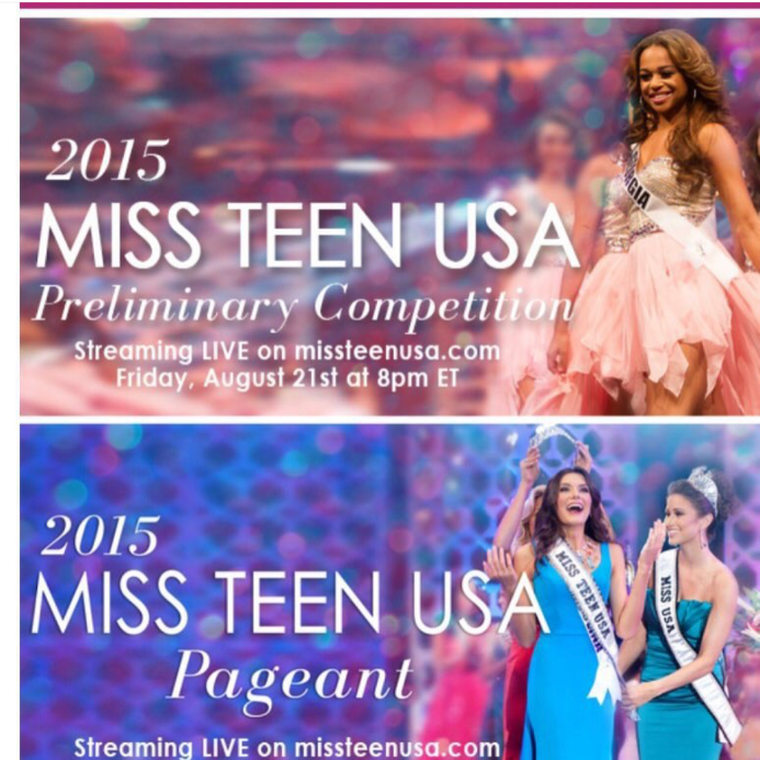 Noelle at Miss Teen USA