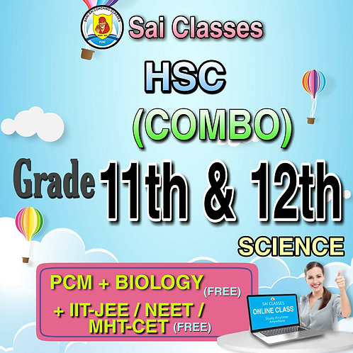 11th & 12th COMBO SCIENCE (PCM+B)