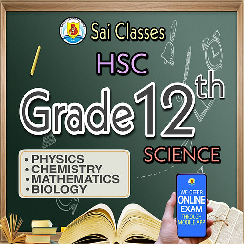 12th SCIENCE (PCMB) HSC LIVE LECTURE