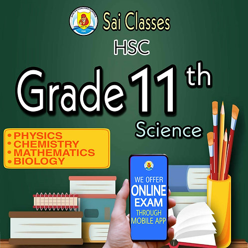 11th SCIENCE (PCMB) HSC LIVE LECTURE