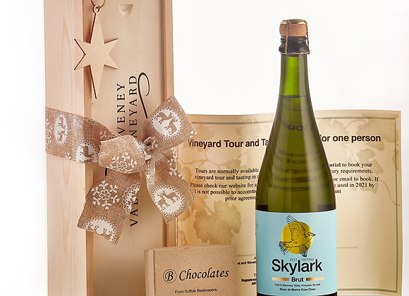 Festive Skylark 2017 with chocolates and vineyard tour