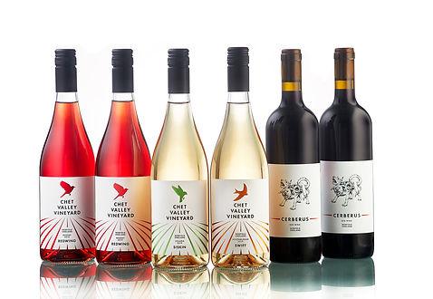 Still wines from Chet Valley Vineyard