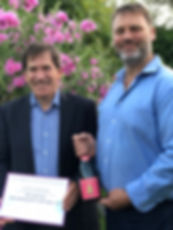 Horatio 2014 pink sparkling won the Spear trophy for the best sparling wine in East Anglia in 2018