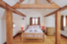 Largest double room at the Vine House is ideal for guests with mobility issues