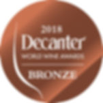 Horatio 2015 Blanc de Blancs was awarded a Bronze medal in the 2018 Decanter World wine awards