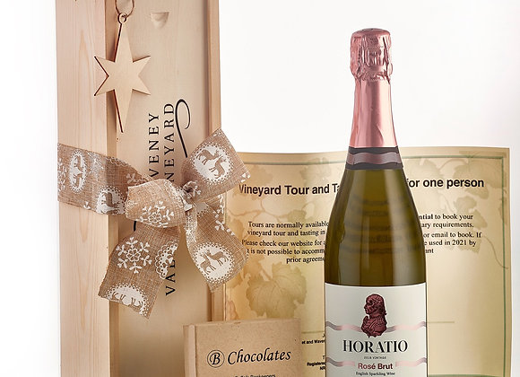 Festive Horatio 2016 with chocolates and Vineyard tour