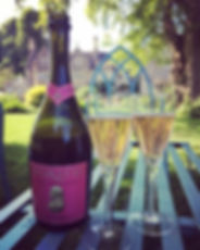 Horatio 2014 pink sparkling wine
