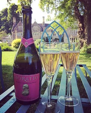 Horatio 2014 pink sparkling wine
