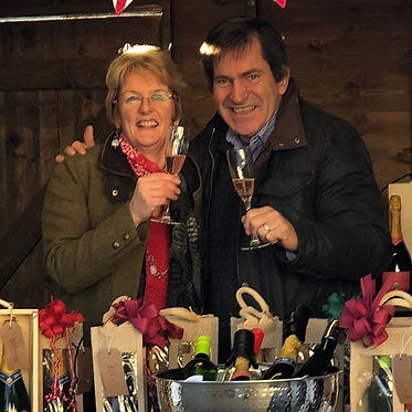 Chet and Waveney Valley Vineyard at the Holkham Festive food and drink festival