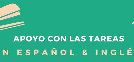 Spanish Language Tutoring & Homework Assistance / Apoyo con las Tareas en Español y Inglés
