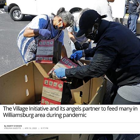 Gazette article food donations.png