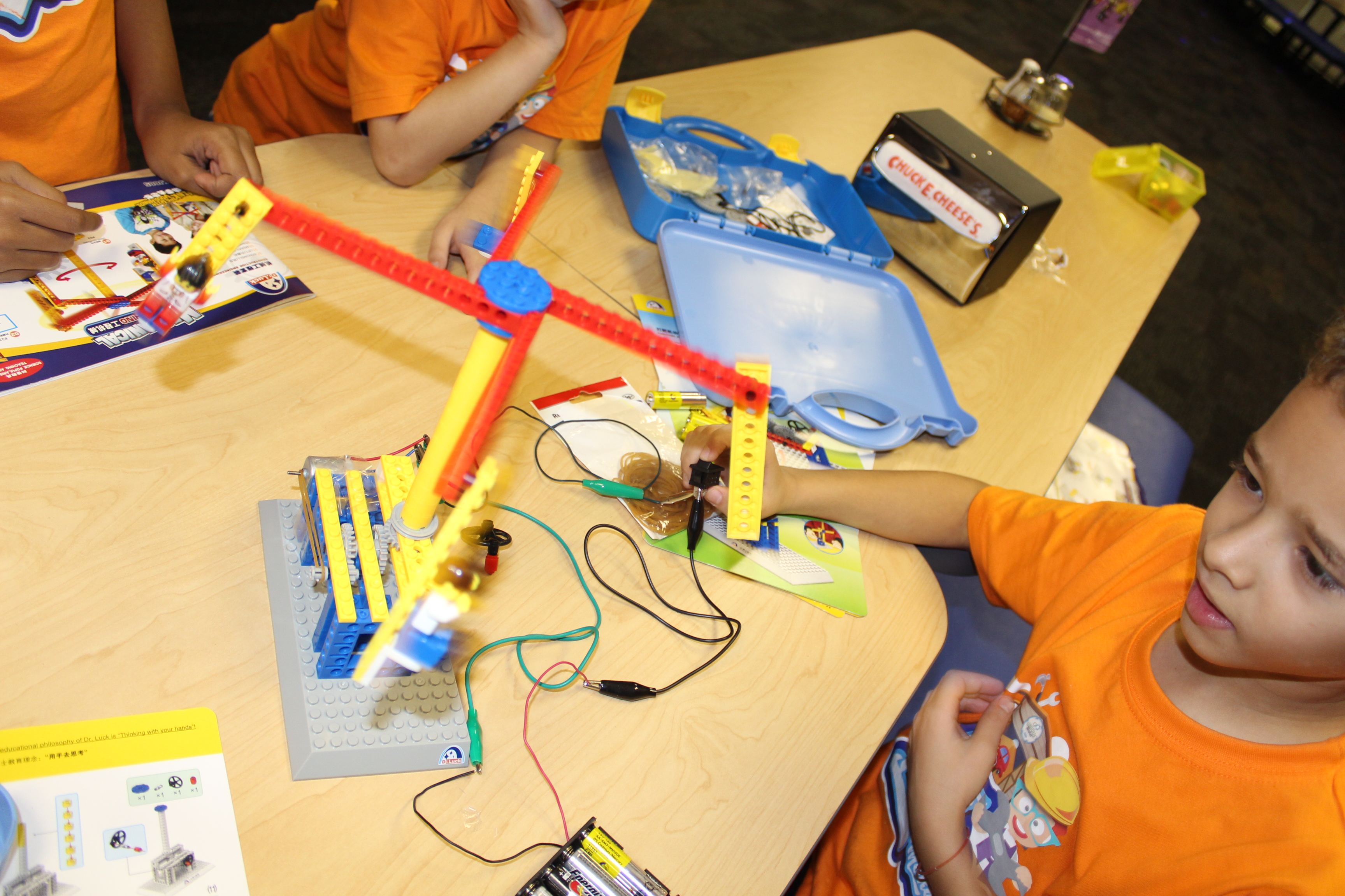 Lego with motors and engines
