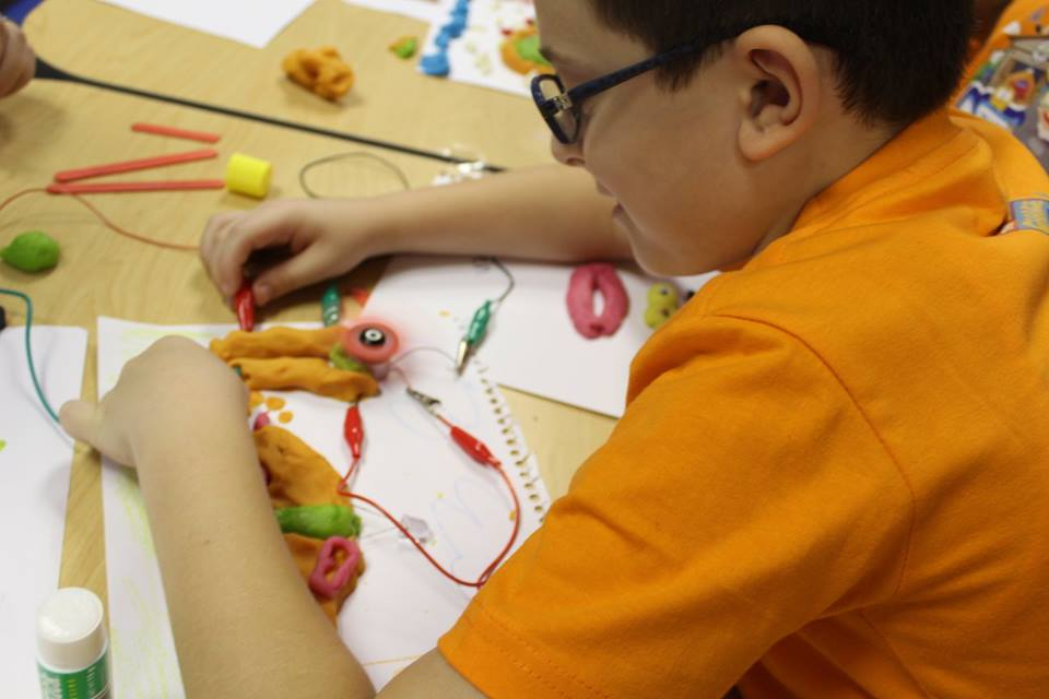 Conductive play dough workshop
