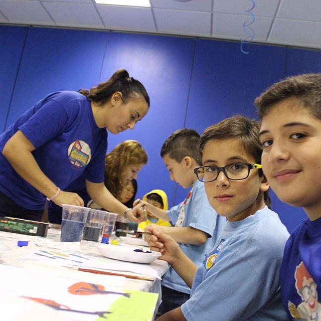 Painting is an art that never gets old #thegaragekids #children #camp #summer #s