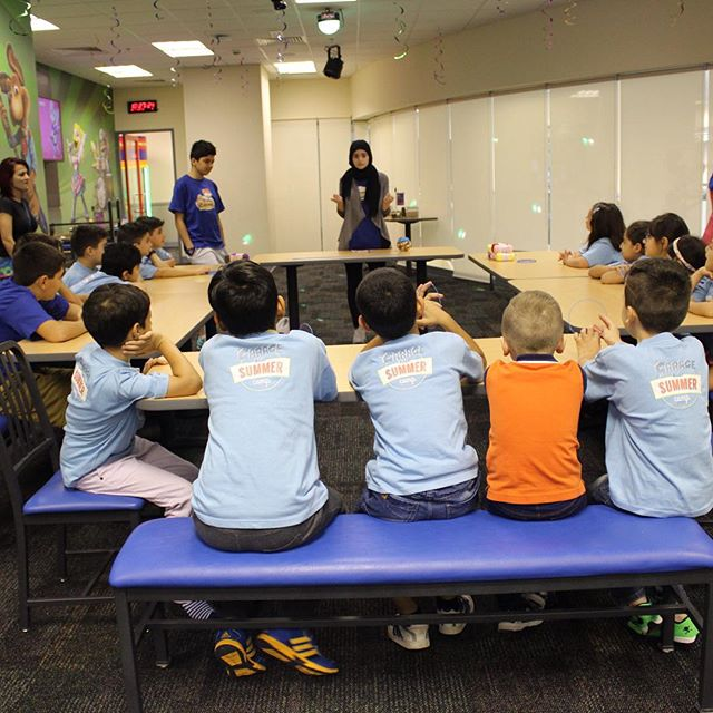 Our second class of the day, DIY (do it yourself) all way #DIY #mydubai #kids #c