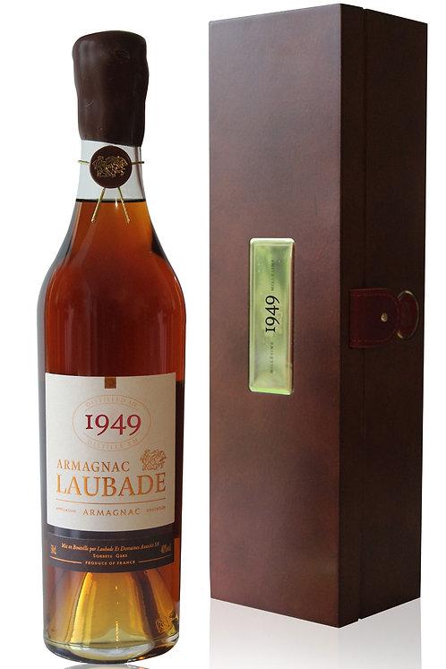 Armagnac Laubade 1949 Coffret