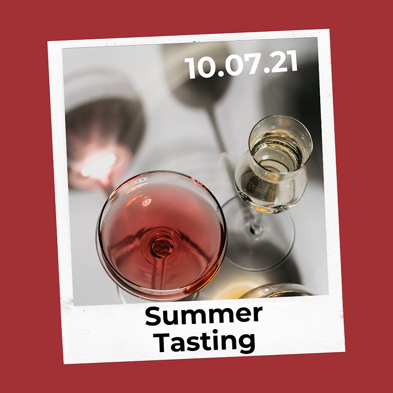 Summer tasting : Salon Bulle et Rosé en compagnie des propriétaires.