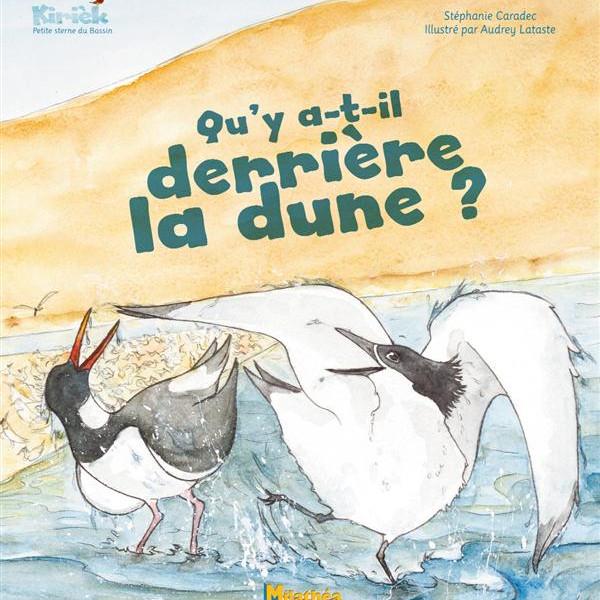 """Dédicace Audrey Lataste, illustratrice jeunesse """"Qu'y a t-il derrière la dune"""""""