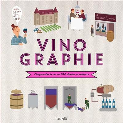 Vinographie : comprendre le vin en 100 dessins et schémas - Fanny Darrieussecq