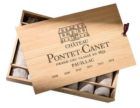 Pontet Canet Coffret 6 bouteilles / Verticale 1990-1999