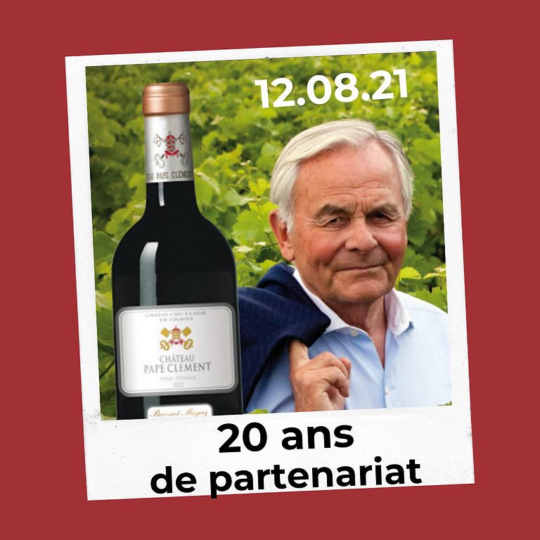 20 ans de partenariat avec Bernard Magrez ! 🥂