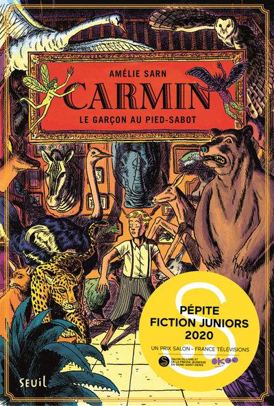 CARMIN - Tome 1 -Le Garçon au pied-sabot