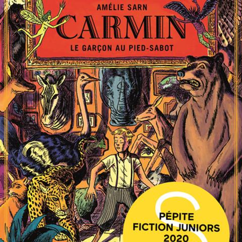 """Dédicace Amélie Sarn """"Carmin, le garçon au pied-sabot"""""""