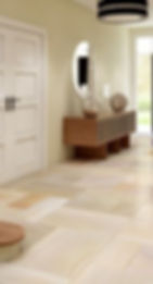 Stone floor cleaning and polishing