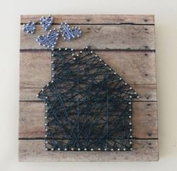 Make String and Nail Art