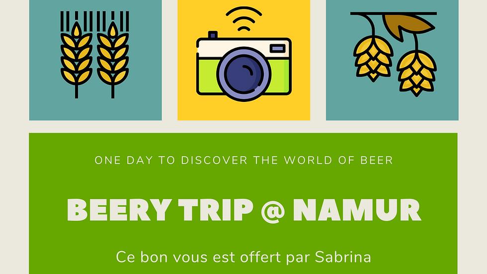 Bon Cadeau : Beery Trip @ Namur