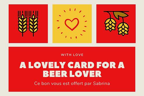 Carte Cadeau : Saint Valentin