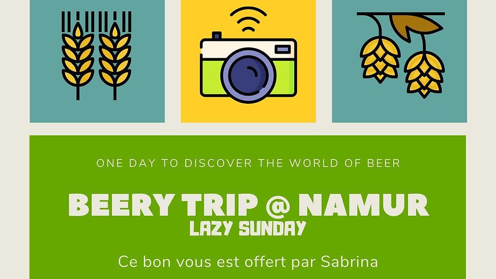 Bon Cadeau : Beery Trip @ Namur | Lazy Sunday
