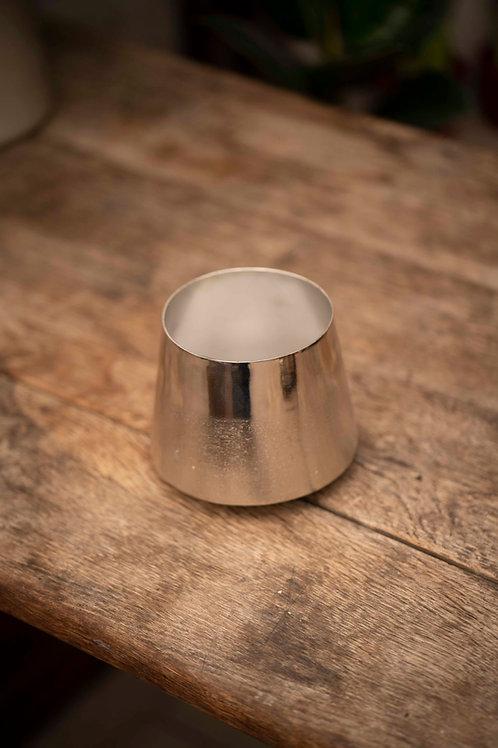 Handmade Silver Pot Texture