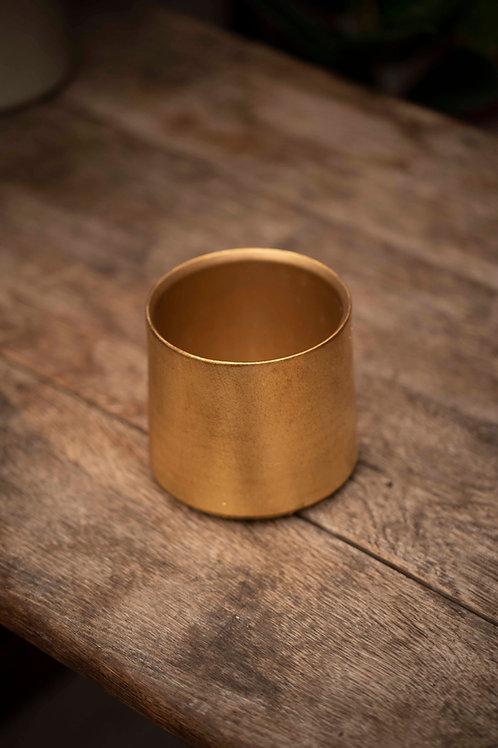 Handgemachter Golden Pot Texture