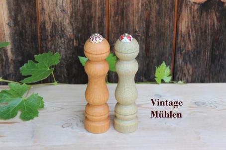 Bauermühlen aus Eichenholz Vintage-Charakter